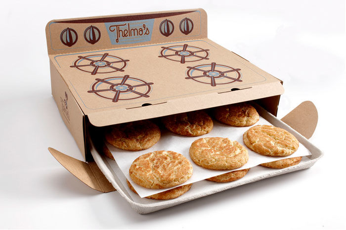 cookie packaging boxes design